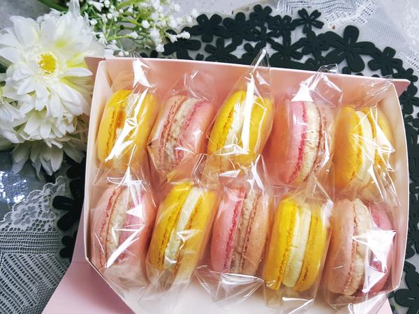 쌀마카롱 (1개) - 디저트라이스, 3,130원, 쿠키/케익/빵, 빵