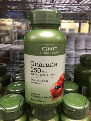 HERBAL PLUS GUARANA 250MG 100 Caplets
