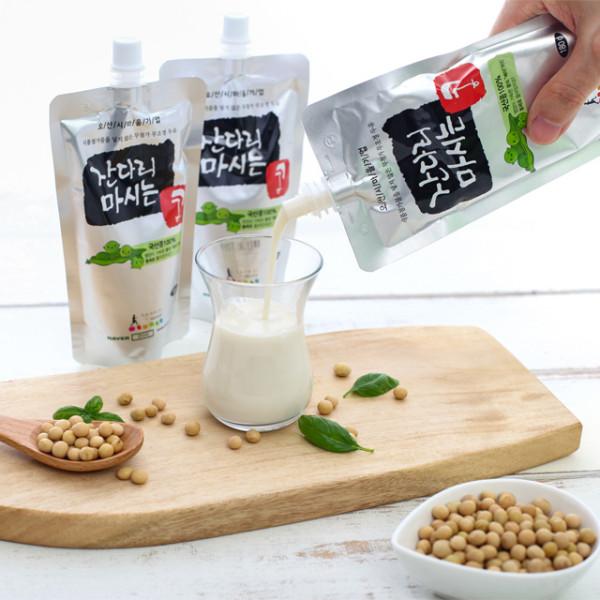 오산함께장터,[잔다리마을] 국산콩 NON GMO 무설탕 무첨가두유 180g