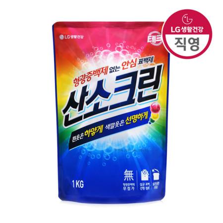 테크 산소크린 표백제 1KG