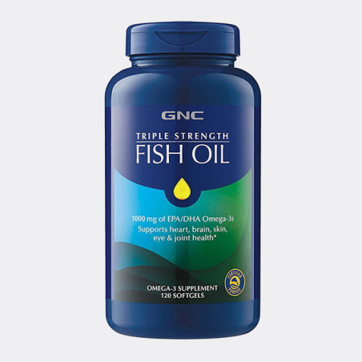 TRIPLE STRENGTH FISH OIL 120 Caplets
