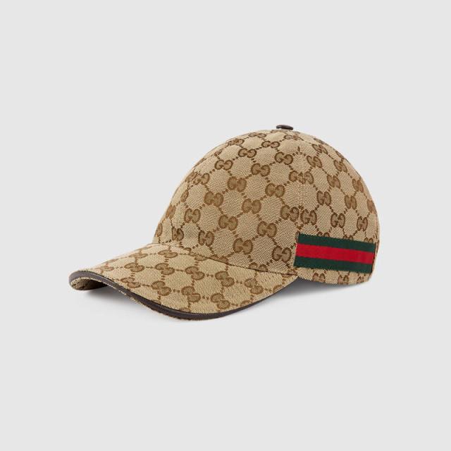 구찌 Web 디테일 오리지널 GG 캔버스 야구모자 - GUCCI GG canvas baseball hat : 보테베를린