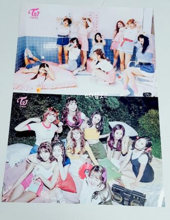 트와이스 TWICE 굿즈  포스터 5장 구매시 + 1장