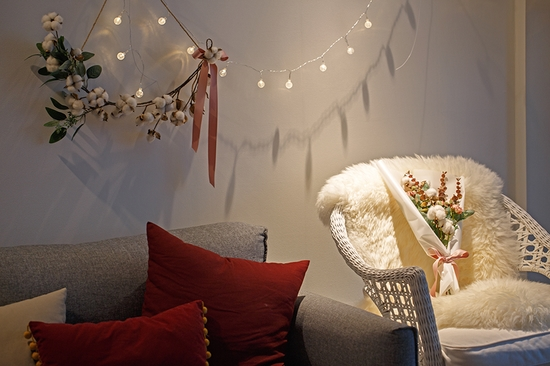 LED 스파클링 앵두전구 전구색 건전지전구 2가지모드 - 아티파티, 8,900원, 조명, 크리스마스조명