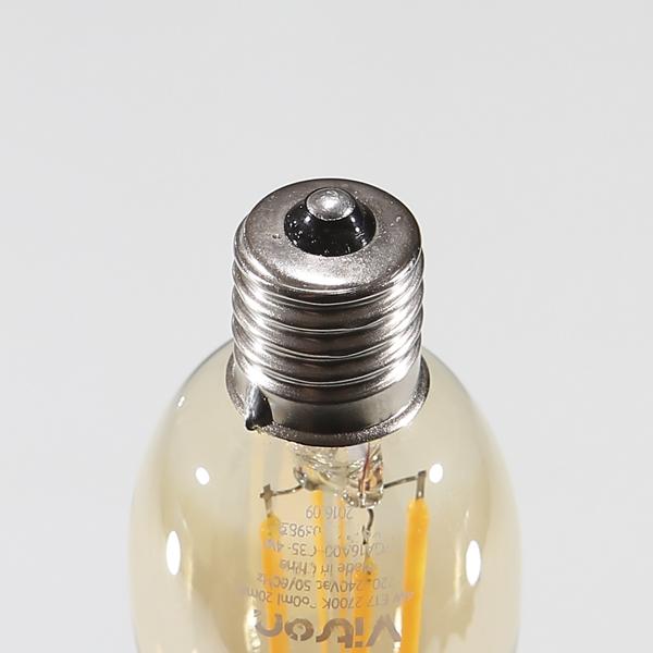 LED 에디슨 촛대구 비츠온 4W E17 전구 KS에디슨램프 - 조명천지, 4,700원, 디자인조명, 팬던트조명