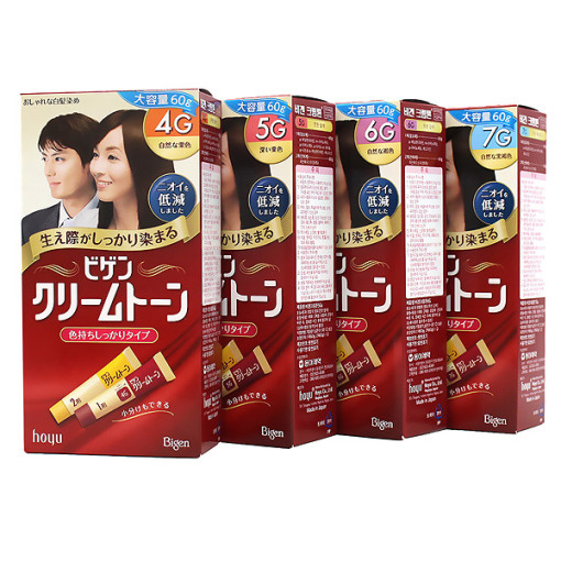 비겐크림톤 염색약 4종 60g /새치전용