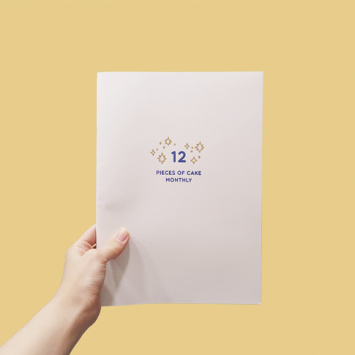 12 month diary