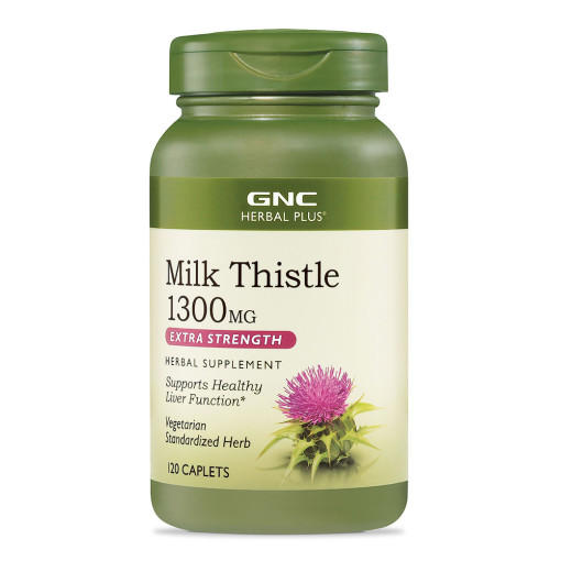 MILK THISTLE 1300 ML 120 Caplets
