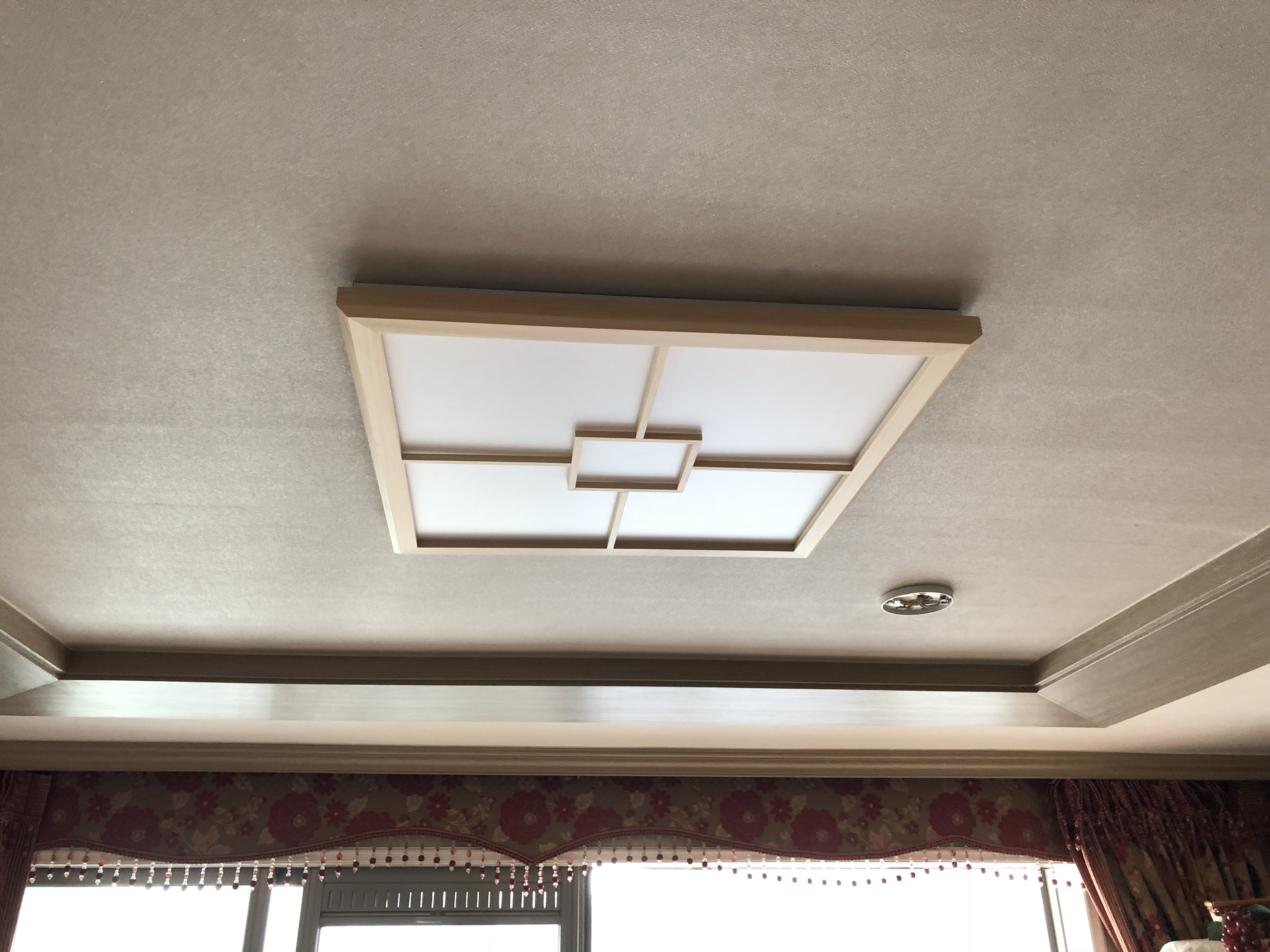LED방등 편백사각방등 50w - 조명천지, 236,800원, 디자인조명, 팬던트조명