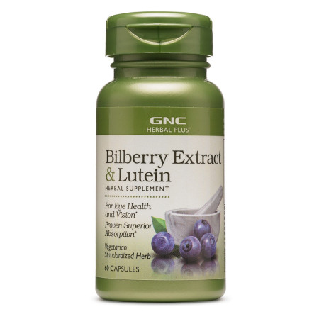 BILBERRY EXTRACT & Lutein 60 Caplets
