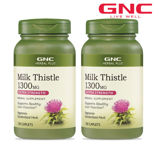 MILK THISTLE 1300 ML 120 Caplets set of 2