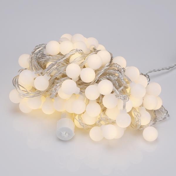 LED볼앵두 100구 투명선 전구색 앵두트리 장식조명 - 조명천지, 12,000원, 이벤트조명, 이벤트조명