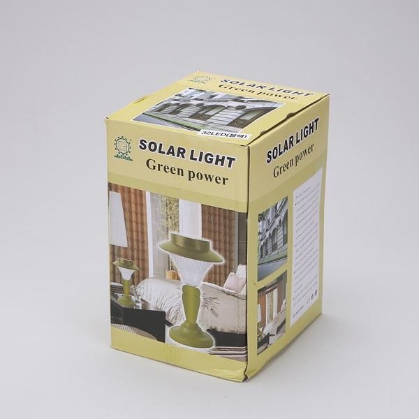 태양광 LED 정원등 32구 태양열 문주등 - 조명천지, 47,000원, 리빙조명, 야외조명