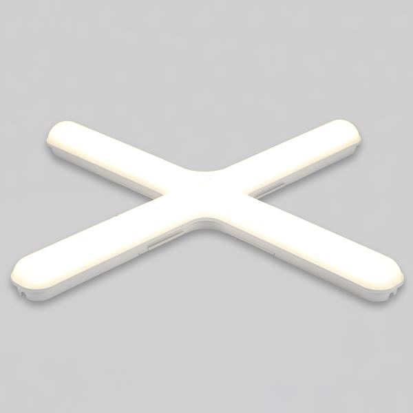 PL등기구 LED십자 60W 전구색 - 천지몰, 24,500원, 리빙조명, 방등/천장등