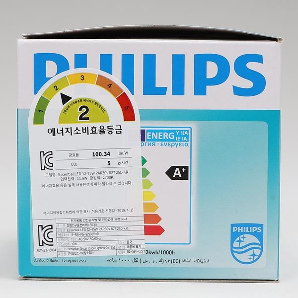 필립스par30s led 12w 827 전구색 25D - 천지몰, 12,000원, 전구/조명부속품, 전구
