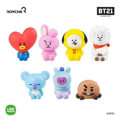 Friends line BT21 monitor figure