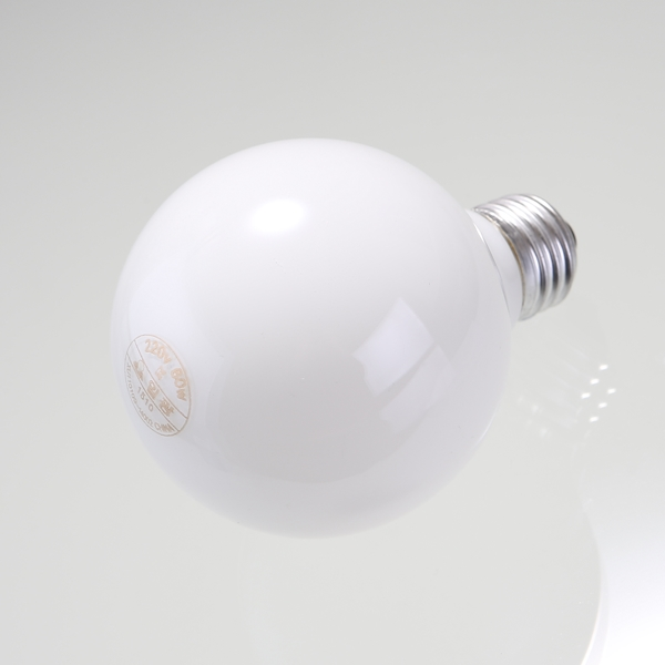 볼램프 볼구 볼전구 G80 60W 유백 일광 - 천지몰, 3,800원, 전구/조명부속품, 전구