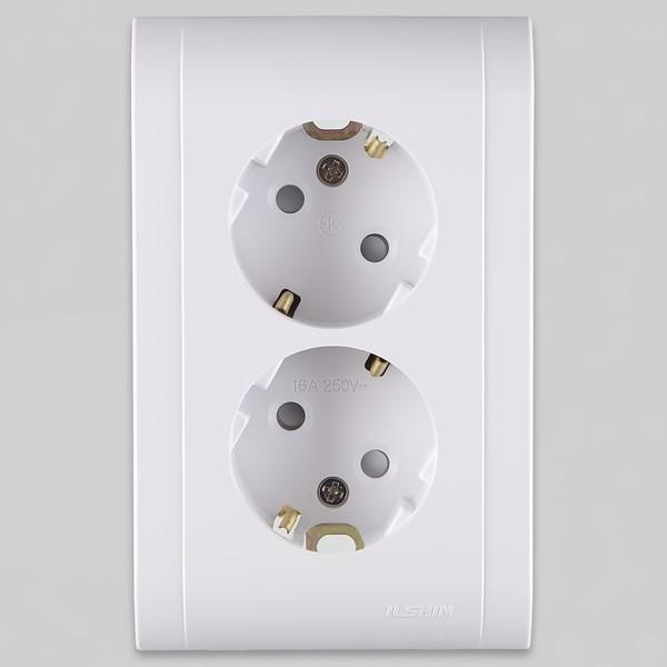매입콘센트 2구  가정용 매장용 일신전기 - 조명천지, 2,270원, 생활잡화, 공구