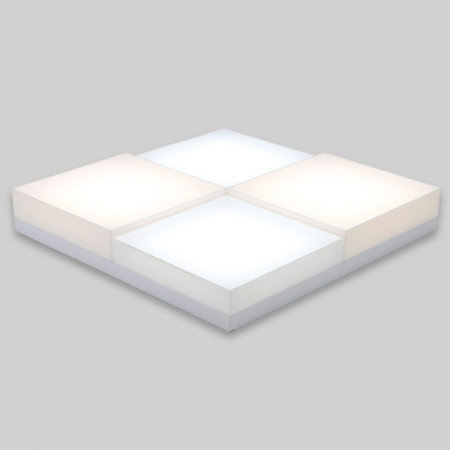 LED방등 멀티시스템 100W 주광색+전구색 삼성칩