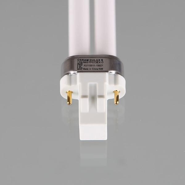PL램프 13W2P 주광색 오스람