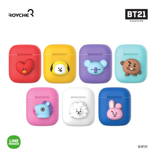 Friends line BT21 AirPod case