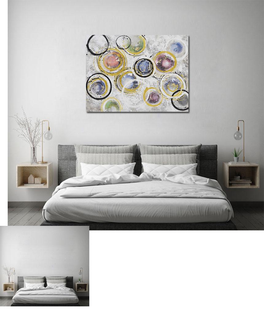 추상화 그림 인테리어 대형 액자 - 나무마을, 184,000원, 홈갤러리, 캔버스아트