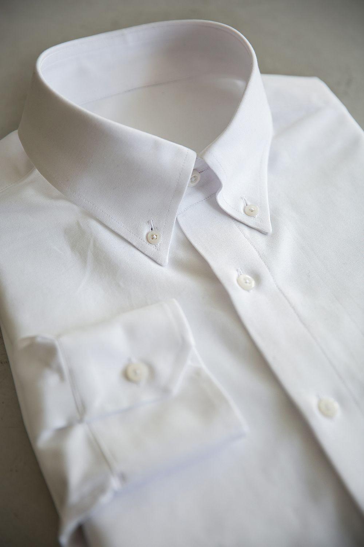 벌브셔츠 로얄옥스포드 앤틱 화이트 버튼다운셔츠