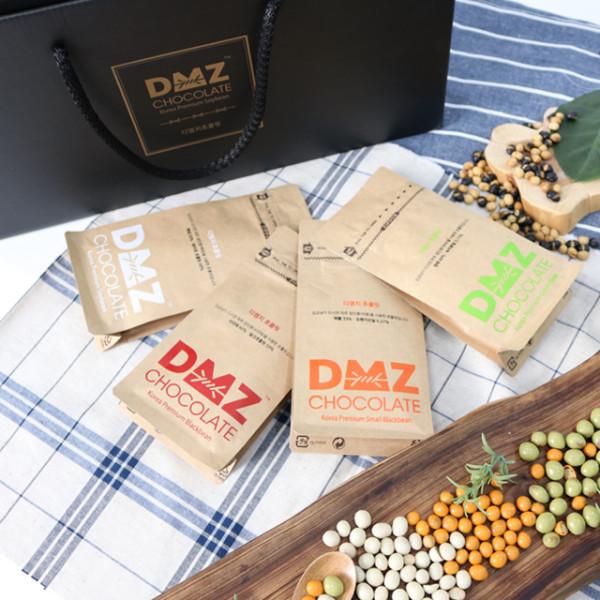 파주 상생마켓,파주 장단콩 DMZ 파우치 초콜릿 선물세트