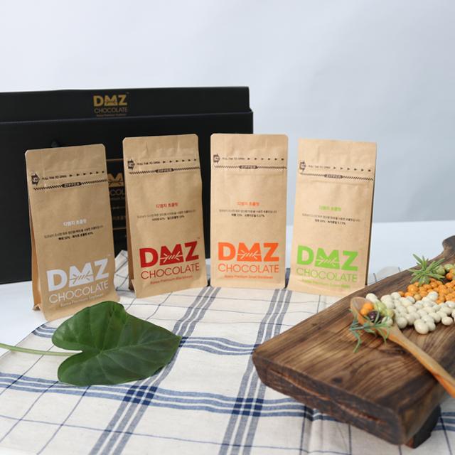 파주 장단콩 DMZ 파우치 초콜릿 선물세트