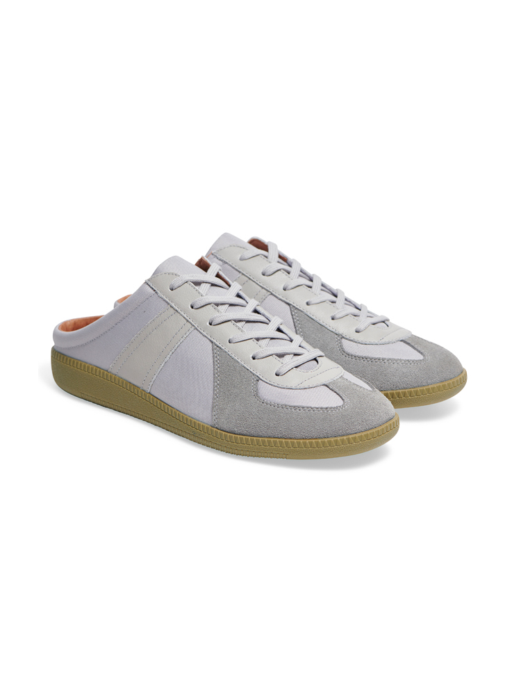 Louis Cordura Mule Grey