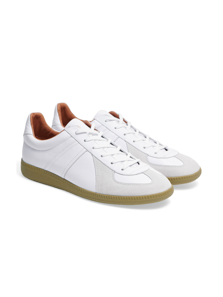 Louis Leather White