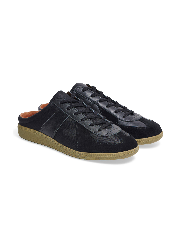 Louis Cordura Mule Black