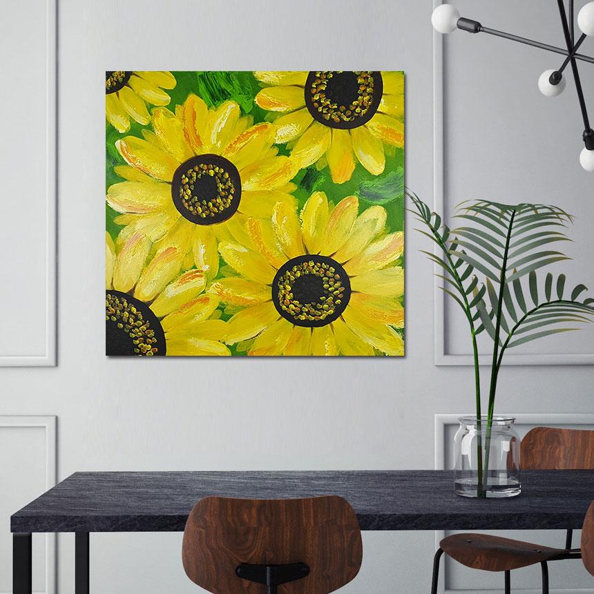 풍수 인테리어 꽃 그림 - 나무마을, 104,000원, 홈갤러리, 캔버스아트