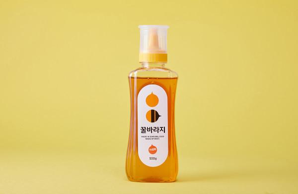 경기행복샵 경기도 중소기업우수제품홍보,천연벌꿀 시흥시 꿀바라지 아카시아꿀 야생화꿀 500g