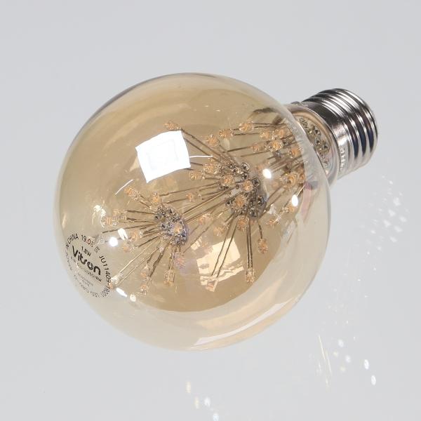 LED 에디슨 램프 눈꽃 G80 1.8W - 천지몰, 9,750원, 전구/조명부속품, 전구