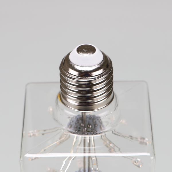 넥스트아이 LED 에디슨 램프 사각 눈꽃 큐브 2.5W C90 - 천지몰, 19,660원, 전구/조명부속품, 전구