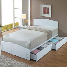[아메리카나베드] 카일 넓은서랍형 침대 프레임 단품 (SS)