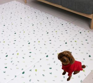 늘디딤 강아지매트 미끄럼방지 애견매트 반려견 접이식매트 폴딩 PVC 5단 슬개골탈구 방지