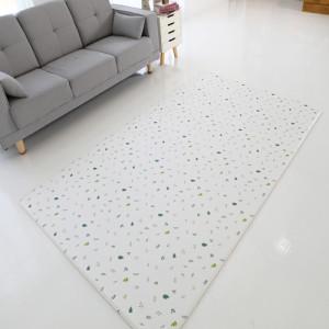 늘디딤 PVC 북유럽풍 거실매트 양면 디자인 포레스티아 층간소음방지
