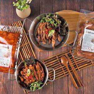 양념 닭목살 구이 술안주 캠핑 요리 음식