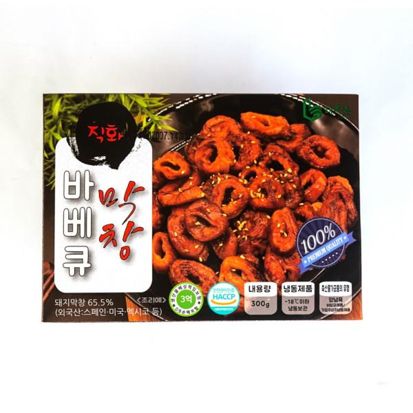 경기행복샵 경기도 중소기업우수제품홍보,막창구이 300g 바베큐맛을 입힌 간편 술안주