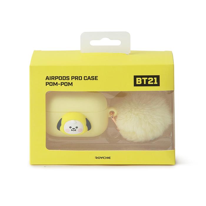 Friends line BT21 CHIMMY BABY pompom pot Air Pro Case