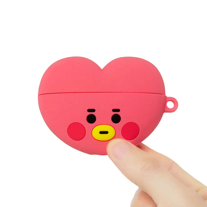 Friends line BT21 TATA BABY Face Air Podcast Pro Case