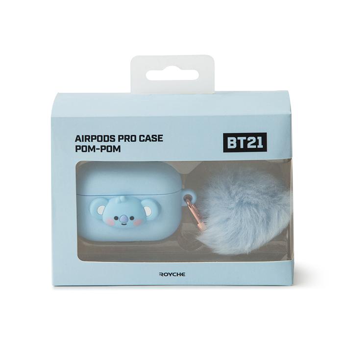 Friends line BT21 KOYA BABY pompom pot Air Pro Case