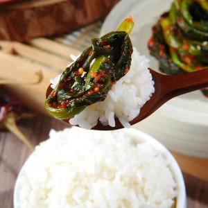 소셜바이오 여수 나유선의 돌산 삼채 갓김치 1kg
