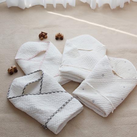얇은 누빔 피그먼트 아기겉싸개