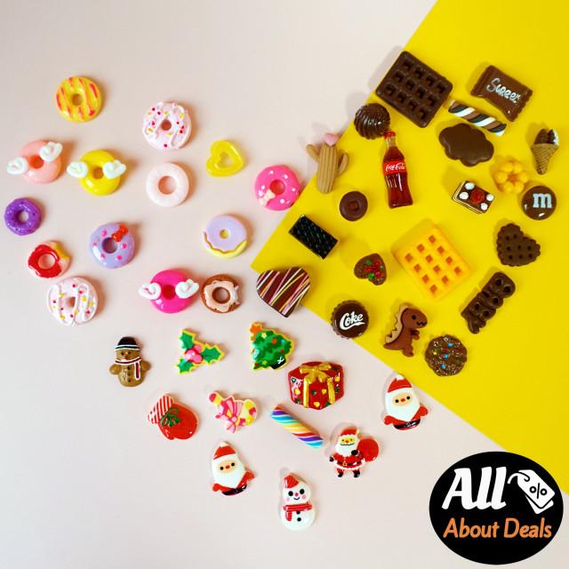 스낵 미니어처 인형 소품 초콜릿 도넛 쿠키 미니어쳐 장식 돌하우스 인테리어 : 미니메어