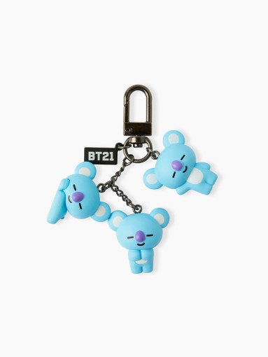 Friends line BT21 KOYA noisily figures keyring