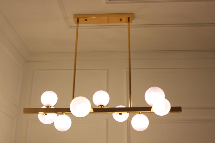 앰플 9등 버블 식탁등 인테리어 조명등 - 천지몰, 213,430원, 디자인조명, 팬던트조명
