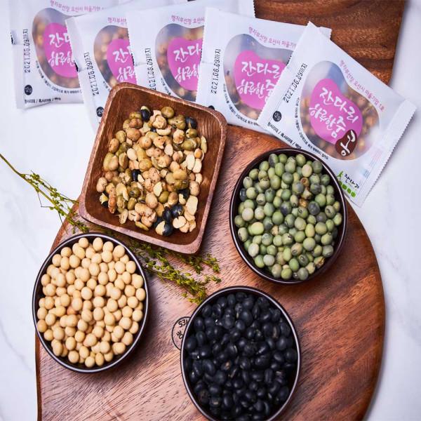 오산함께장터,[국산콩] 백태 검은콩 청서리태 영양간식 볶음콩 12g 33봉